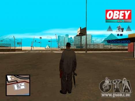C-HUD Obey für GTA San Andreas