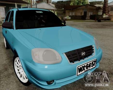 Hyundai Accent 2004 pour GTA San Andreas