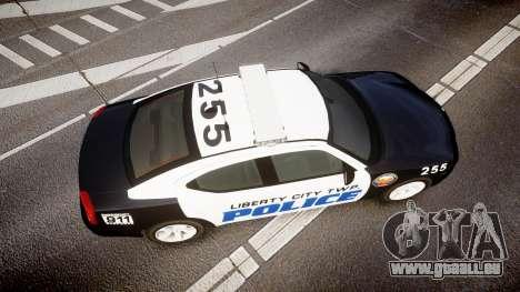 Dodge Charger 2006 LCPD CHGR v2.0L [ELS] für GTA 4 rechte Ansicht