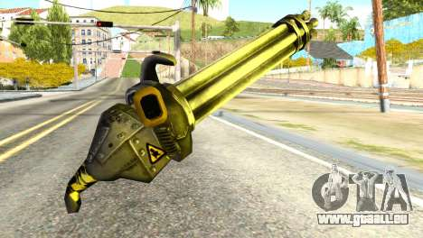 Minigun from Redneck Kentucky pour GTA San Andreas deuxième écran