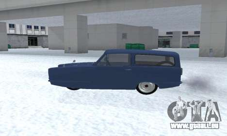 Reliant Supervan III pour GTA San Andreas vue de droite