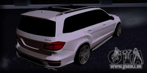 Mercedes GL500 pour GTA San Andreas laissé vue