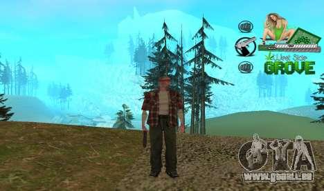 C-HUD Groove St. Family für GTA San Andreas