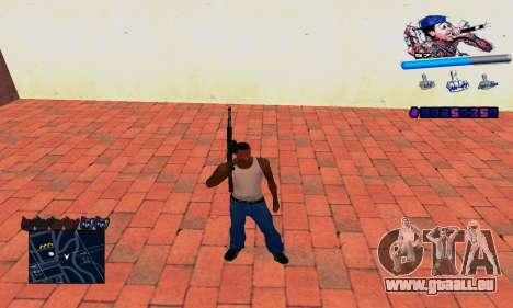 C-HUD Wiz Khalifa für GTA San Andreas her Screenshot