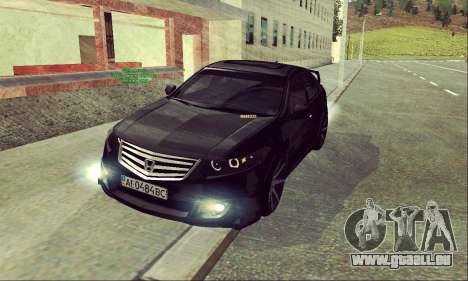 Honda Accord Type S 2008 LT pour GTA San Andreas