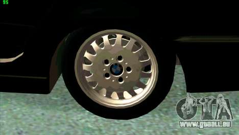 BMW 730i für GTA San Andreas Motor