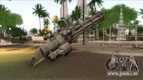 Minigun from GTA 5 für GTA San Andreas zweiten Screenshot