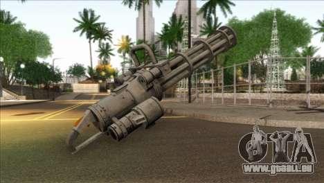 Minigun from GTA 5 für GTA San Andreas zweiten Screenshot