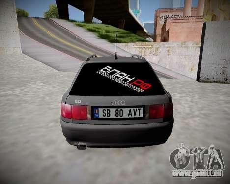 Audi 80 B4, Bevor BAN.RF für GTA San Andreas rechten Ansicht