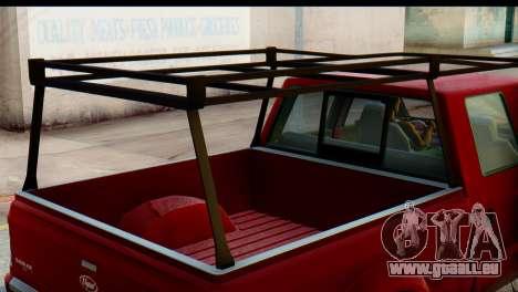 GTA 5 Vapid Sadler IVF pour GTA San Andreas vue de droite