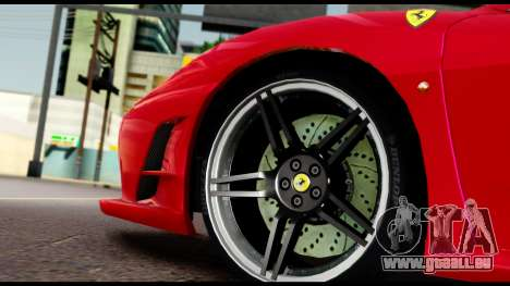 Ferrari F430 Scuderia für GTA San Andreas obere Ansicht
