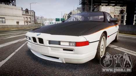 BMW E31 850CSi 1995 [EPM] Carbon pour GTA 4