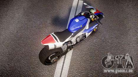 Yamaha YZF-R1 Custom PJ2 für GTA 4 rechte Ansicht