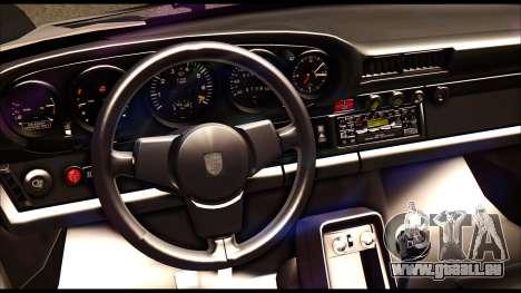 Porsche 911 1980 Winter Release pour GTA San Andreas vue intérieure