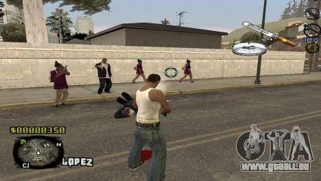 C-HUD Sigara pour GTA San Andreas deuxième écran