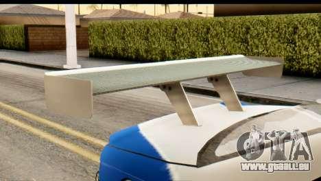 BMW M3 E46 GTR NFS MW für GTA San Andreas rechten Ansicht