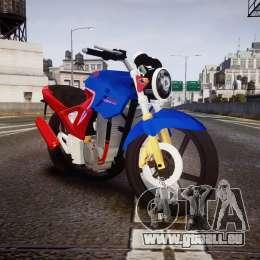 Honda Twister 2014 pour GTA 4