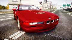 BMW E31 850CSi 1995 [EPM] Castrol Red