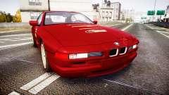 BMW E31 850CSi 1995 [EPM] Castrol Red