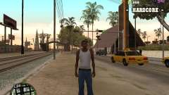 C-HUD Hardcore für GTA San Andreas