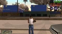 C-HUD Les Alterman für GTA San Andreas
