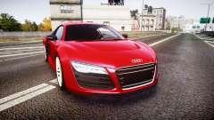 Audi R8 E-Tron 2014