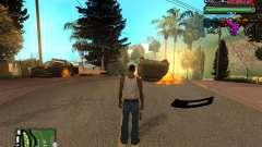 C-HUD Tawer Ghetto pour GTA San Andreas