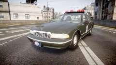 Chevrolet Caprice 1993 Detroit Police