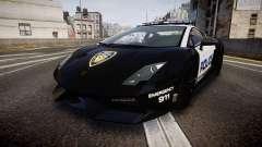 Lamborghini Gallardo LP570-4 LCPD [ELS] pour GTA 4