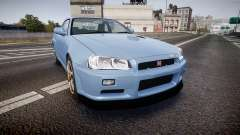 Nissan Skyline R34 GT-R V.specII 2002