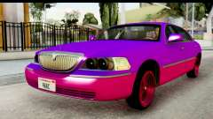 Lincoln Town Car 2010 pour GTA San Andreas