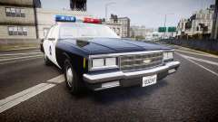 Chevrolet Impala 1985 LCPD [ELS]