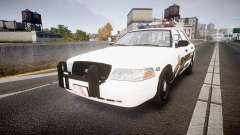Ford Crown Victoria LCSO [ELS] MX7000 pour GTA 4