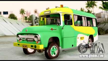 Ford Bus 1956 für GTA San Andreas