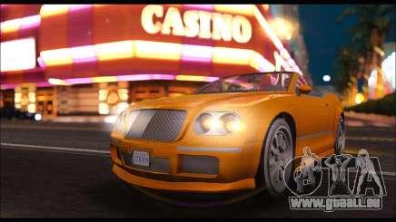 Enus Cognoscenti Cabrio (GTA V) (IVF) pour GTA San Andreas