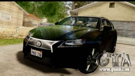 Lexus GS350 Indonesian Police pour GTA San Andreas