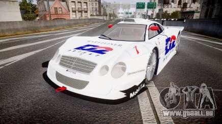 Mercedes-Benz CLK LM 1998 PJ1 pour GTA 4