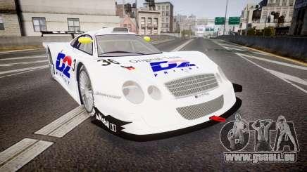 Mercedes-Benz CLK LM 1998 PJ36 pour GTA 4