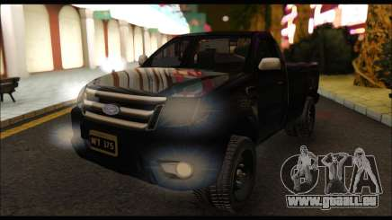Ford Ranger Cabina Simple 2013 pour GTA San Andreas