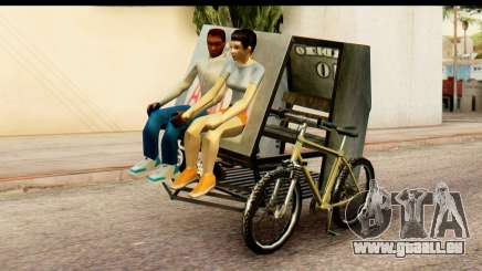 Pedicab Philippines für GTA San Andreas