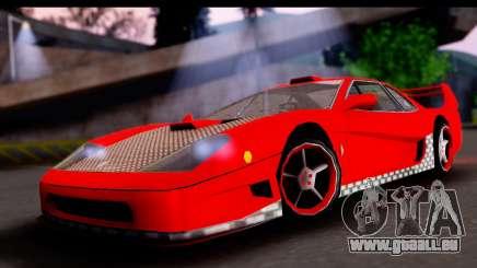 Turismo Pro X für GTA San Andreas