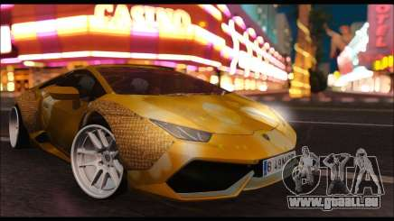 Lamborghini Huracan LB Solar pour GTA San Andreas