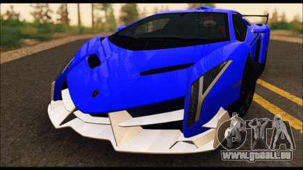 Lamborghini Veneno White-Black 2015 (ADD IVF) für GTA San Andreas