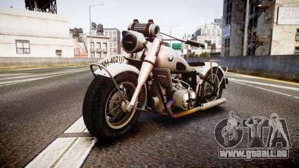 BMW R75 black tires pour GTA 4