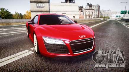 Audi R8 E-Tron 2014 pour GTA 4