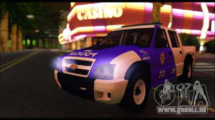 Chevrolet S-10 Policia de Santa Fe für GTA San Andreas