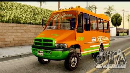 Dodge Ram Microbus pour GTA San Andreas
