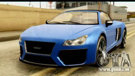 GTA 5 Obey 9F Cabrio pour GTA San Andreas