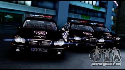Mercedes-Benz C32 AMG Police für GTA San Andreas