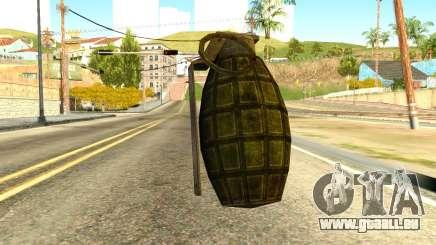 Grenade from Global Ops: Commando Libya pour GTA San Andreas